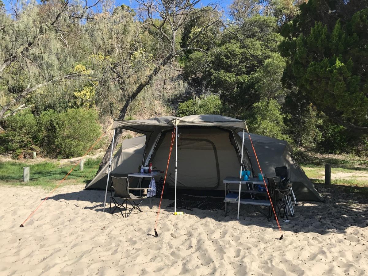 2017 Fraser Island Part 1 Campsite