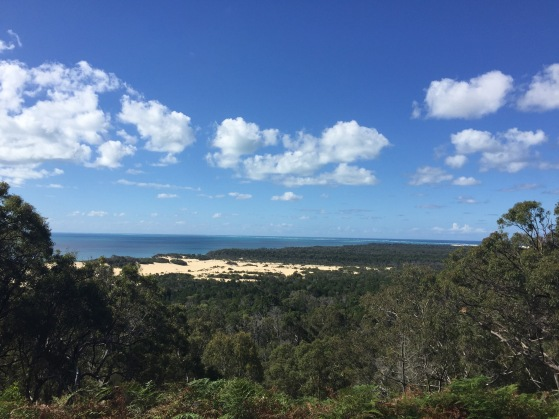 Stunning views from Sandy Cape Lighthouse